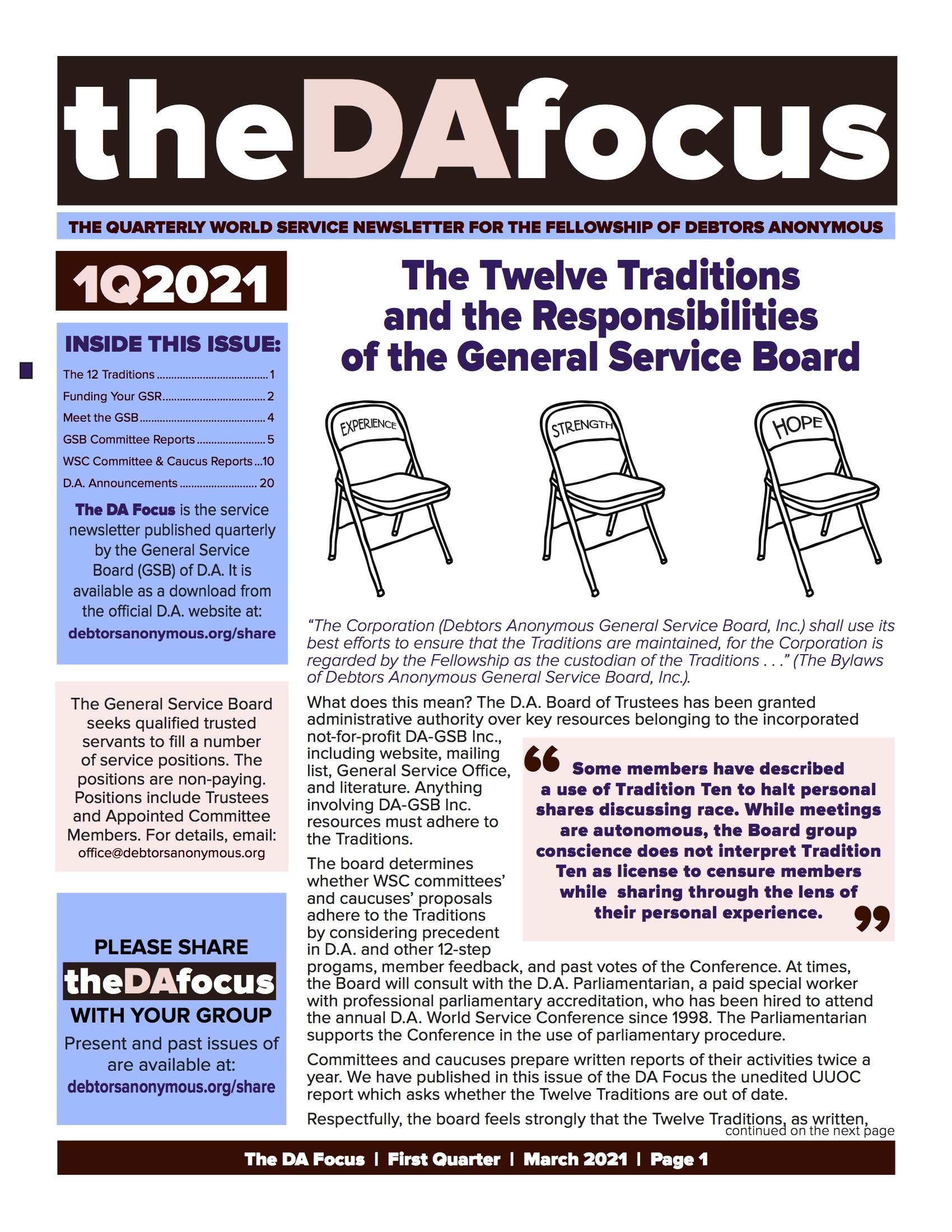 DA Focus March 2021