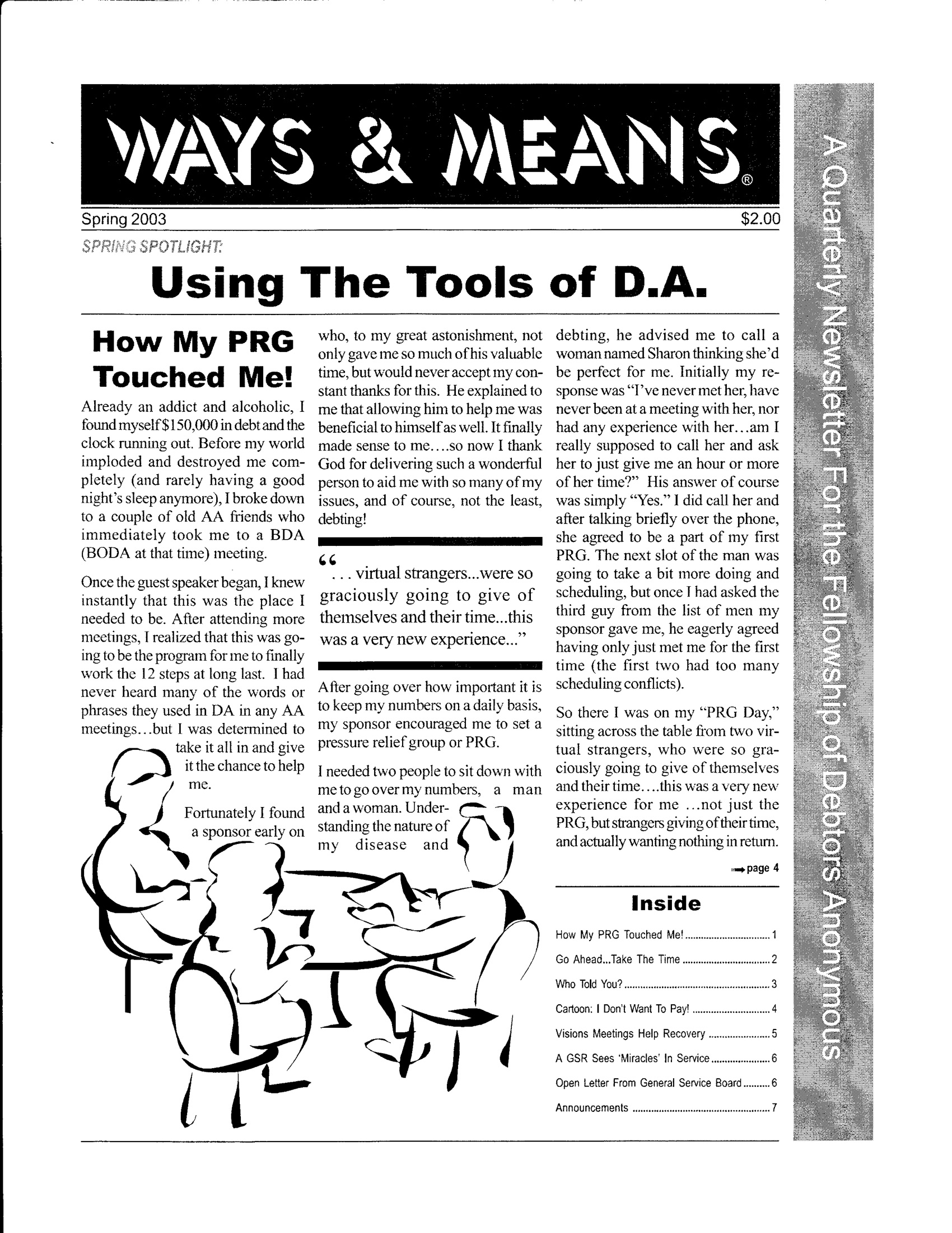 Ways & Means 2nd QTR 2003