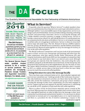 DA Focus November 2018