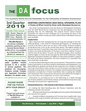 DA Focus July 2019