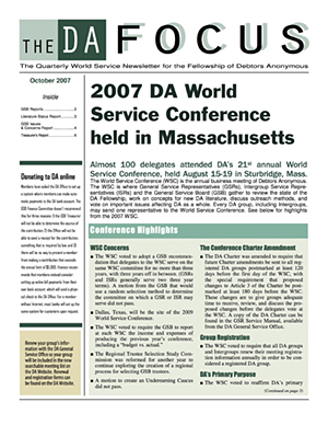 DA Focus October 2007