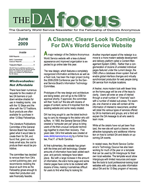 DA Focus June 2009