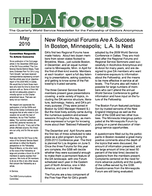 DA Focus May 2010