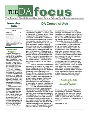 DA Focus November 2010