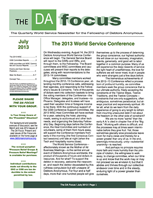 DA Focus July 2013