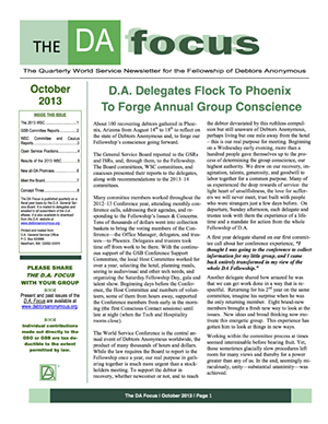 DA Focus October 2013