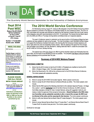 DA Focus September 2014