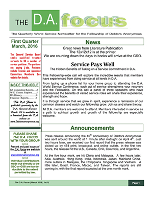 DA Focus April 2016