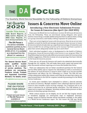 DA Focus February 2020