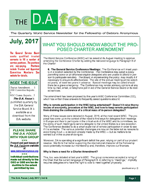 DA Focus July 2017