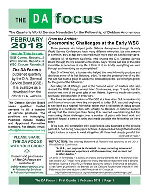 DA Focus February 2018